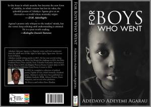 for-boys-who-went: Upcoming chapbook by Adedayo Adeyemi Agarau