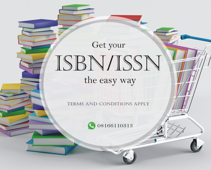 Get your ISBN/ISSN the easy way